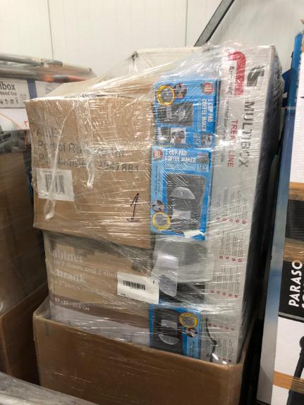 Foto 2:Pallet goederen 15 stuks diverse retourgoederen