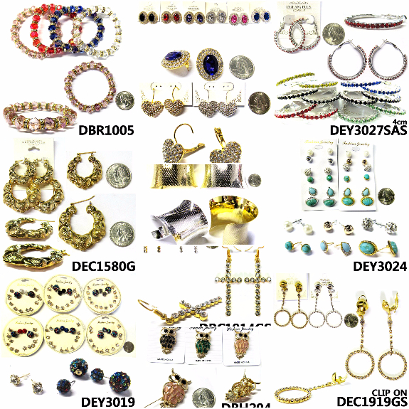 Picture 1:10000 pcs new fashion jewelry in assorted styles