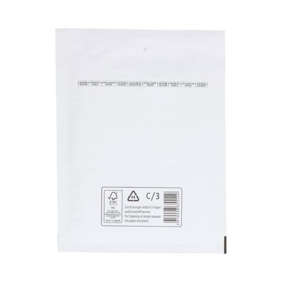 Picture 1:Palletaanbieding luchtkussen enveloppen, wit, 70 dozen