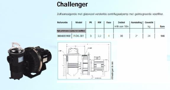 Foto 1:Nieuwe challenger centrifugaal pomp p-chl-301 zelfaanzuigend