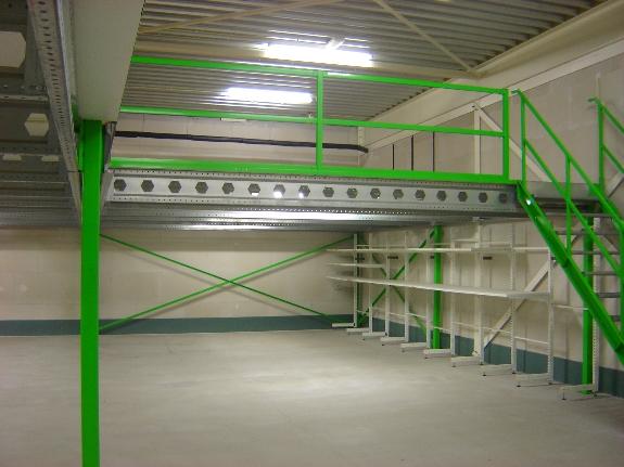 Foto 1:Tussenvloer entresolvloer entresol verdiepingsvloer