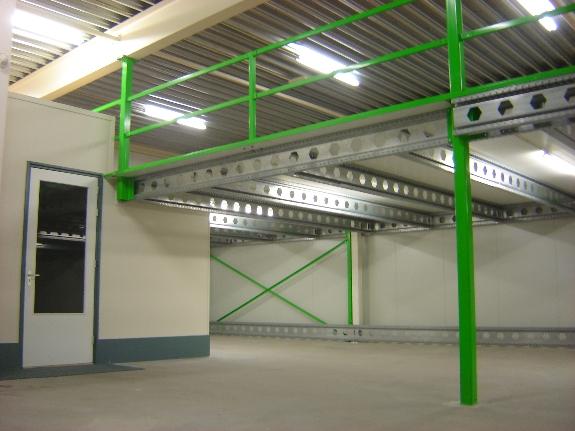 Foto 3:Tussenvloer entresolvloer entresol verdiepingsvloer