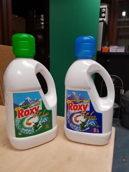 Picture 1:Gel wasmiddel van het merk roxy