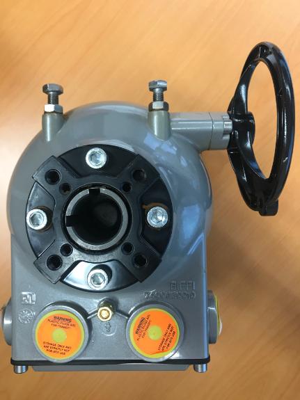 Picture 3:Kwartslaagaandrijving epi2 elektrisch 100-240 vac