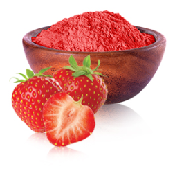 Picture 1:Gesproeidroogde fruitpoeder in bulk 25 kg  eu productie
