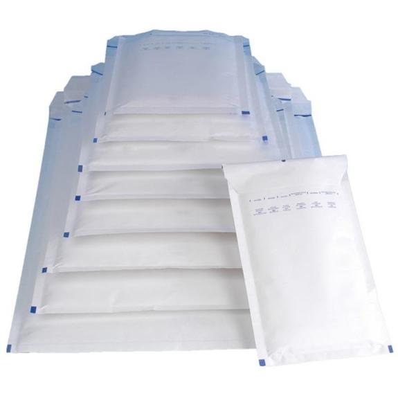 Picture 2:Palletaanbieding luchtkussen enveloppen, wit, 70 dozen