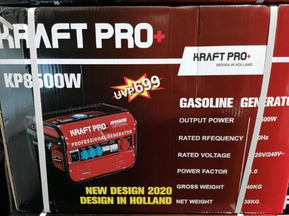 Picture 2:Benzine generatoren 8500 3x220 1x 380