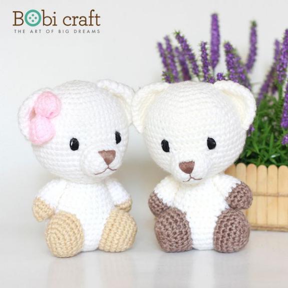 Foto 2:Bobi craft knuffels  nieuw  58 stuks  verschillende