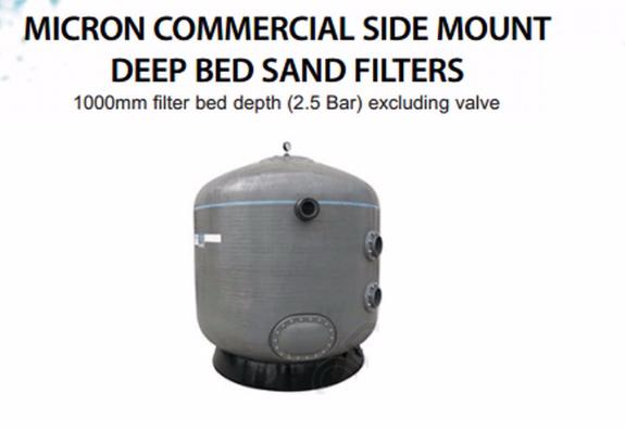 Foto 3:Grote professionele zand filters met filterzand 4 filters