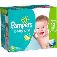 Picture 1:Pampers baby diapers