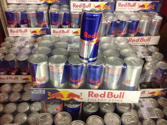 Picture 1:Red bull energy drinks