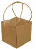 Groothandel - Jute Woven Paper Bag with paper cord handles - Natural colou